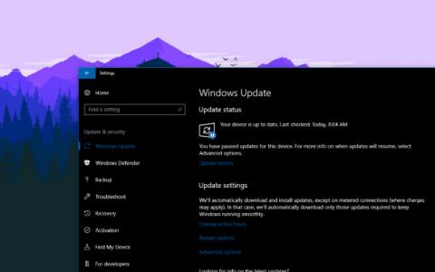 微软发布了累积更新以修复Build 18999和19002上的Shutdown问题