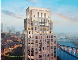 明尼阿波利斯最高的豪华公寓大楼破土动工