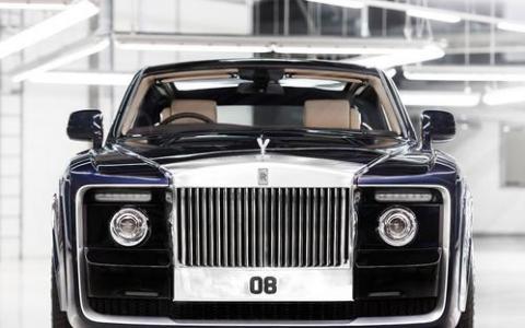 劳斯莱斯Sweptail出生富有 一辆价值超过4亿泰铢的汽车