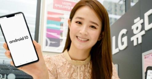 LG的G8 ThinQ Android 10测试版程序将于韩国启动