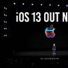 iOS 13已经在所有iPhone中占50% 在装有iPadOS的iPad中占33%