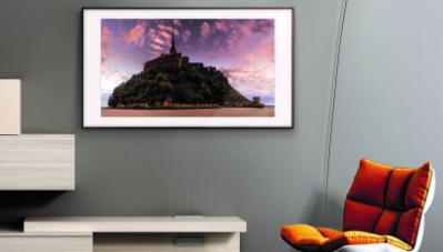 三星的The Frame TV正在获得QLED性能升级