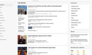 谷歌Google新闻大修将包括视频和提高的加载速度