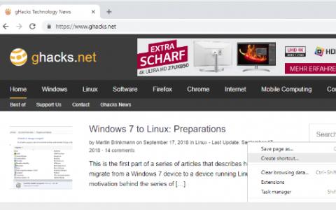 将您喜欢的网站添加到Windows 10任务栏