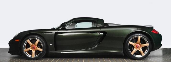 超级跑车保时捷卡雷拉GT重新投入使用