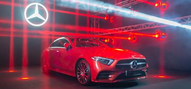 梅赛德斯-奔驰在新加坡推出新的CLS