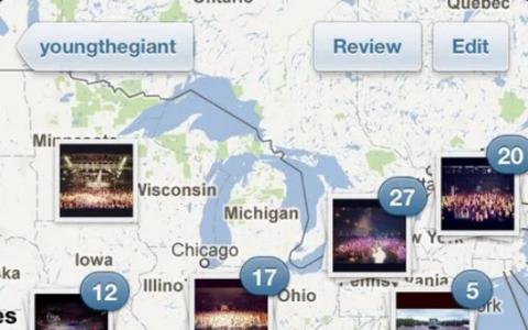 Instagram 3.0发布 现在带有照片地图