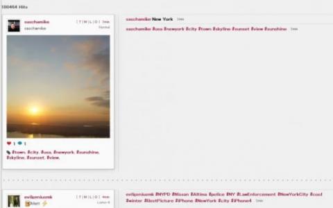 Webstagram 一个Instagr.am Web搜索引擎