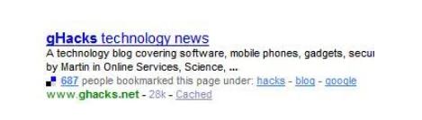 雅虎将Delicious整合到搜索结果中