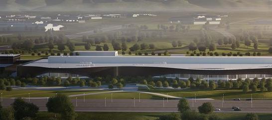 Polestar开始建设其最先进的Polestar生产中心