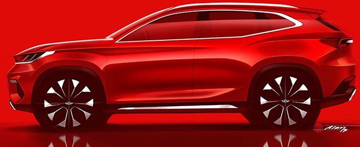 奇瑞揭示了即将推出的全球车型线的设计方向