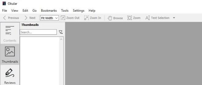 Okular开源通用文档查看器