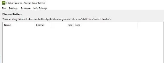 FilelistCreator目录打印机