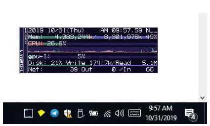 Thilmera7是Windows的免费系统监视工具