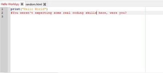 Geany开源文本编辑器