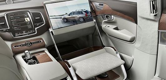 沃尔沃的休息室控制台将车载豪华提升到一个全新的水平