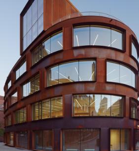 KTH建筑学院是该大学主校区的第一座专用建筑设施