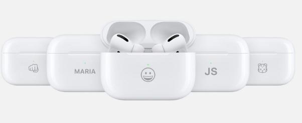 Apple现在提供AirPods充电盒表情符号雕刻选项
