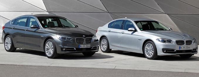 宝马亚洲宣布在当地发售改款5系轿车和GT