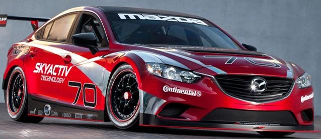 柴油动力马自达6在印第安纳波利斯赛车场获胜
