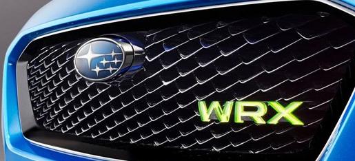 斯巴鲁WRX概念车将在法兰克福车展上首次亮相
