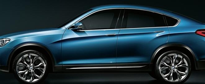 宝马在上海车展前发布X4的细节
