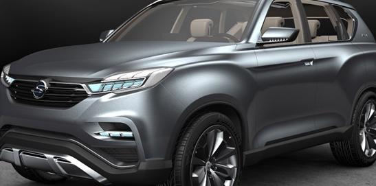 双龙在首尔车展上发布了新的SUV概念车