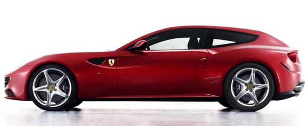 法拉利推出了引人注目的FF概念车