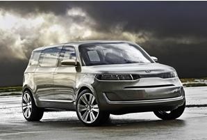 起亚在底特律车展上推出了外观大胆的KV7概念车