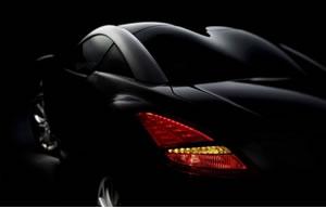 标致发布RCZ双门轿跑车的预告片