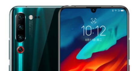 联想Z6 Pro蓝色选件在中国发布