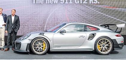 保时捷911 GT2RS第一眼 迄今为止最快的911