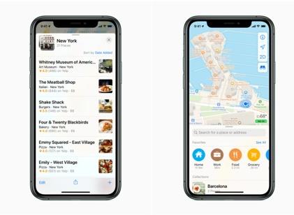 苹果向美国所有用户推出改进的地图