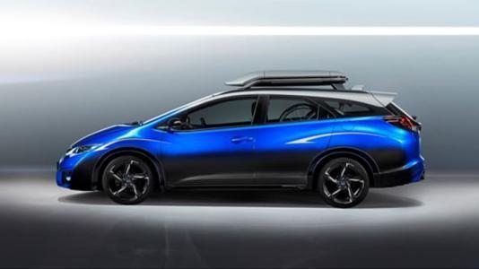 本田在日内瓦车展上发布了思域旅行车概念车