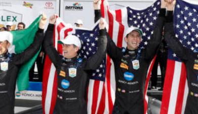 凯迪拉克赢得代托纳24小时耐力赛