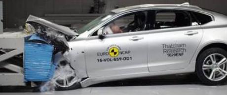沃尔沃S90和福特野马EuroNCAP结果