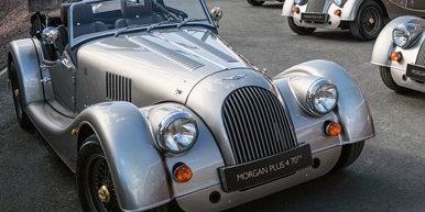 摩根已经制造出其首批限量版Plus 4 70周年纪念版车型