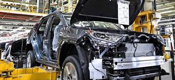 丰田汽车暂时停止在北美的所有汽车及零部件工厂的生产
