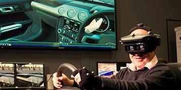 虚拟现实和增强现实技术无需离开房屋即可展示福特汽车
