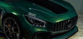 梅赛德斯AMG GT R获得Prior Design的宽体处理