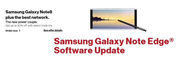 Verizon更新了GalaxyNoteEdge GalaxyNote4修复了Blueborne错误