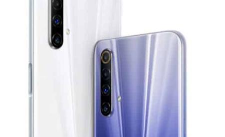 Realme X50m 5G包括一个侧面指纹扫描仪和四个摄像头