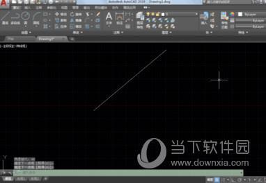 教大家Autocad2019如何画固定长度角度的方法
