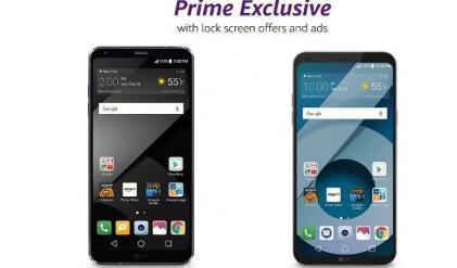 LG G6 和Q6作为Amazon Prime Exclusive手机抵达美国