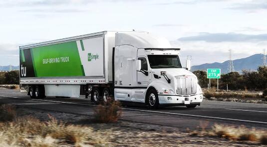 TuSimple的新货运网络使无人驾驶卡车大规模上路