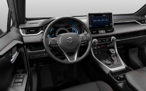 铃木推出了新款2.5升Across插电式混合动力SUV