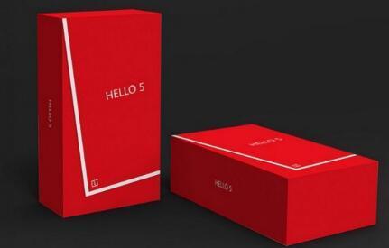 OnePlus希望您选择OnePlus 5零售包装盒的设计