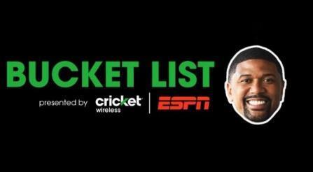 板球和ESPN遗愿清单发布 赢得Galaxy S7或参加大型体育赛事的机会