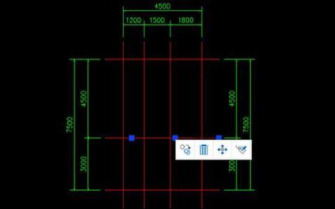 教大家CAD迷你家装如何快速画轴线的方法