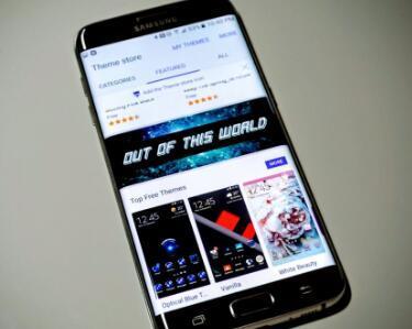 如何在三星Galaxy S7和S7 edge上更改主题